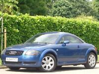 2004 AUDI TT AUTOMATIC COUPE 1.8T ( 180bhp )***9 SERVICE STAMPS + MUST LOOK***