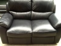 3 seater and 2 seat leather sofas, second hand £390 very good condition