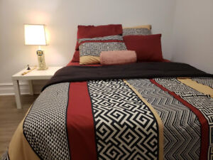4 1/2 FURNISHED w/AMENITIES, WIFI $950 NOVEMBER