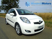 TOYOTA YARIS 1.33 VVT-I T SPIRIT 5DR WHITE - LOW MILES - £30 TAX - HUGE SPEC!