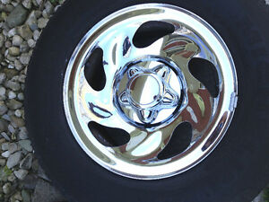 Good 1997-2003 F-150 Chrome Wheels & Tire Set SEE VIDEO