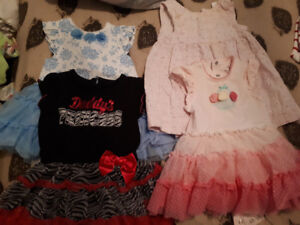 Baby girl clothes 6-12 months cheap!