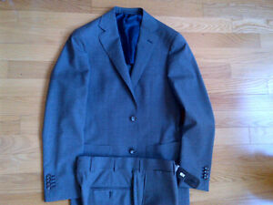Short and skinny? Suit Supply Suit Grey Kitchener / Waterloo Kitchener Area image 2