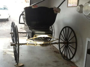 ANTIQUE BUGY, RESTORED to NEW CONDITION---NOW-$1200 Kingston Kingston Area image 10