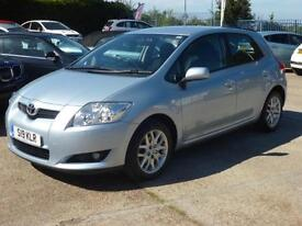 Toyota Auris 1.6 VVT-i T3, 5 DOOR, CLIMATE CONTROL, ALLOYS, 63,000 MILES ONLY