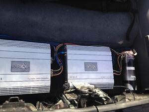 CAR AUDIO - 2 - Kaption Amps and capaciter
