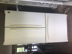 GE double door refrigerator