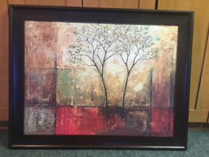 """Tree Painting"" Wall Art"