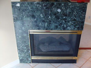 Three Sided Gas Fireplace - MUST BE SOLD