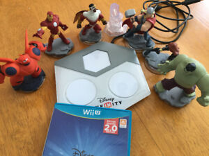 Jeu Infinity Wii U et Charactères - Wii U game and Characters