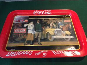 Cabarets , Coke, Pepsi, Molson, Continental, Dow, Satin tabac.