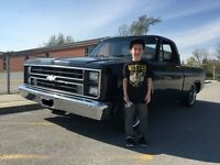 1986 Chevy C10 Frame off restored
