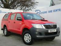 2012 12 Toyota Hi-Lux 2.5D-4D 4WD HL2 Manual Diesel for sale in AYRSHIRE