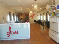 AESTHETICS ROOM AVAILABLE AT GLOSS SALON 17th AVE SW!