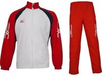 Mizuno Pro Team Tracksuit Woven Crystal 60WW851-62 Size X-Large Mens #4556