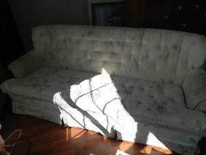 pretty pink floral designed sofa for sale