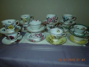 China Cup and Saucers