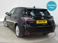 2014 LEXUS CT 200h 1.8 Luxury 5dr CVT Auto