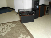 POLK SPEAKERS WITH RECEIVER
