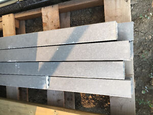 17 pieces of 12' hardie board trim