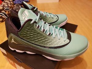NEW Nike Air Jordan CP3.VI AE shoes size 11 Green/black/wht NIB