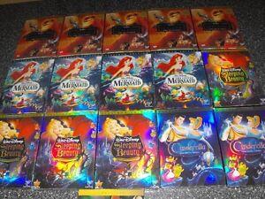 DVD Walt Disney La Petite Sirène neufs