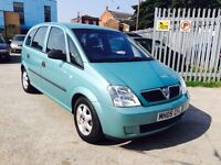 VAUXHALL MERIVA 1.6 AUTOMATIC, 54,000 MILES ONLY