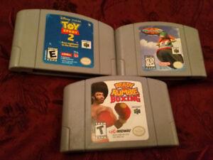 Jeux trio game de Nintendo 64