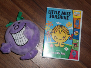 DVD MONSIEUR/MADAME  MR.MEN-LITTLE MISS DVD AVEC TOUTOU