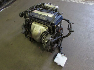 JDM Honda Accord Euro R F20B VTEC Blue Top Engine