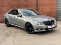 2010 Mercedes-Benz E Class 2.1 E200 CDI BlueEFFICIENCY SE 4dr Saloon Diesel Auto