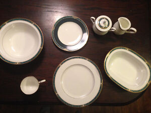 Never used Noritake ESSEX COURT 12 place china set
