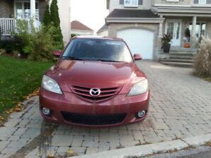 une Mazda 3 à vendre