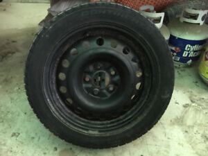 Winter Snow Tires And Wheels 5 x 4.72