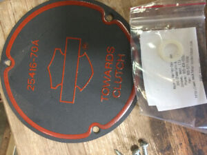 harley davidson clutch cover gasket and o ring