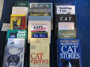 OVER 15 CAT BOOKS