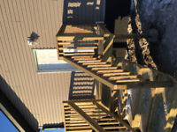 Deck skirting and railing!!! Treated and aluminum!!!!!