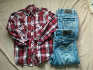 Rock & Roll Cowboy Shirt and Jeans