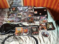PS3 bundle with guitar hero