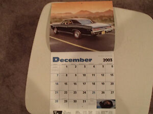 New 2004 MUSCLE THUNDER CAR CALENDAR. Sarnia Sarnia Area image 9