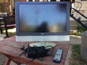 Sony TV Flatscreen, Maytag Air Conditioner, Craftsman Gas Mower