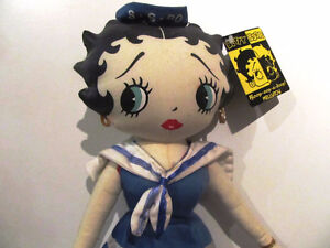 Vintage BETTY BOOP Stuffed Doll - if picked-up this week