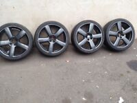 Audi 5 spoke s line style alloys 19''