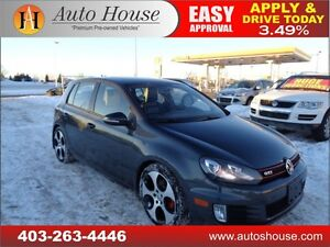 2010 Volkswagen GTI GTI 2.0T Leather Sunroof Bluetooth/Aux 90Day