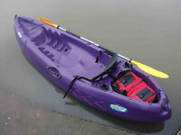 "New ""WINNER"" Velocity II Sit-on-top Kayak W/Paddle"