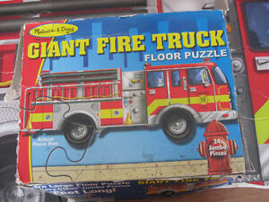 Fire Truck Floor Puzzle London Ontario image 2