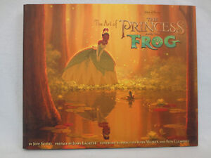 THE ART OF THE PRINCESS AND THE FROG Art Book
