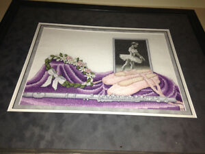 Ballet cross stitch