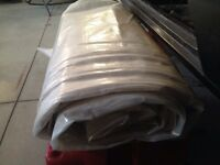Ice rink poly plastic liner