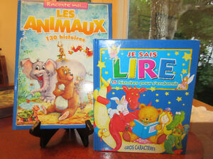 2 Lovely French Story books - Je Sais Lire & Les Animaux